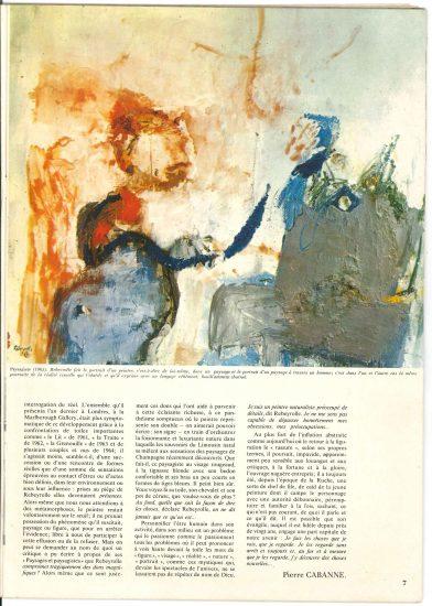 Rebeyrolle: La peinture considérée comme une possession du monde