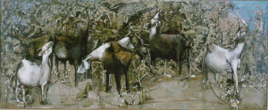 1970, «Les Chèvres» entrent au Musée de Limoges