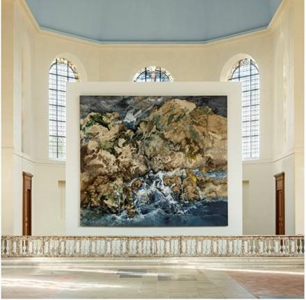 Une œuvre de Paul Rebeyrolle exposée pour la première fois à Kering