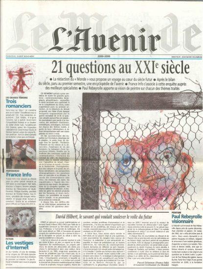 Le Monde – L' Avenir