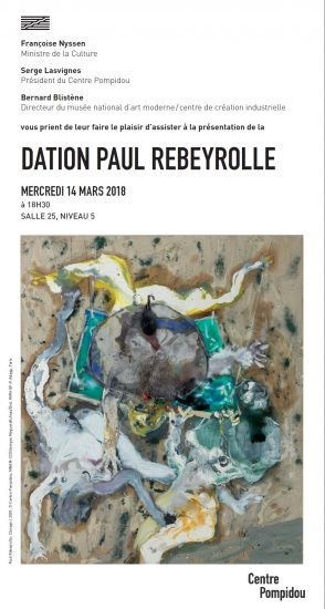 Rebeyrolle au Centre Pompidou