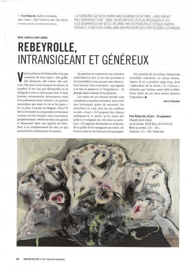 Rebeyrolle à la Chapelle Saint-Libéral / Musée Labenche (Brive)